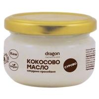 Кокосово масло студено пресовано сурово 100 мл. Dragon Superfoods 3,98 лв. от Vitania.bg