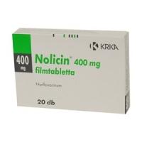 НОЛИЦИН ТАБЛ. 400 мг.х 20 7,10 лв. от Vitania.bg
