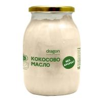 Кокосово масло без аромат 1000 мл. Dragon Superfoods 27,90 лв. от Vitania.bg