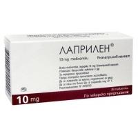 ЛАПРИЛЕН ТАБЛ. 10 мг.х 30  1,90 лв. от Vitania.bg