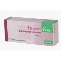 ВАЗИЛИП ТАБЛ. 20 мг.х 28 КРКА 3,94 лв. от Vitania.bg