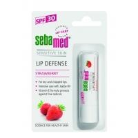 СЕБАМЕД балсам за устни SPF30 ягода 4,8 гр. 5,52 лв. от Vitania.bg