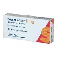 БИЗОХЕКСАЛ ТАБЛ. 5 мг.х 30  3,13 лв. от Vitania.bg