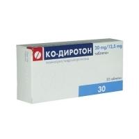 КО-ДИРОТОН ТАБЛ. 20 мг./12.5 мг.x 30 9,90 лв. от Vitania.bg