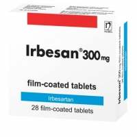 ИРБЕСАН TABL. FILM. COAT. 300 MG X28 18,46 лв. от Vitania.bg