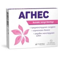 АГНЕС таблетки х 60 ФОРТЕКС 15,90 лв. от Vitania.bg
