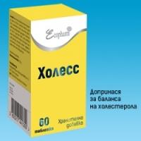 ХОЛЕСС таблети x 60 14,50 лв. от Vitania.bg