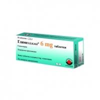 ГЛИМЕГАММА ТАБЛ. 6 мг.х 30 8,64 лв. от Vitania.bg
