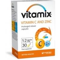ВИТАМИКС Витамин C + цинк х 30 ФОРТЕКС 7,27 лв. от Vitania.bg
