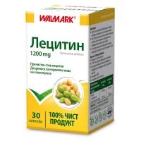 ВАЛМАРК Лецитин капсули 1200 мг х 30 9,84 лв. от Vitania.bg