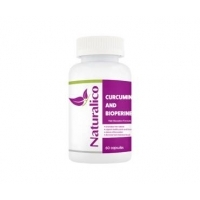 НАТУРАЛИКО Куркумин + биоперин табл. х 60 21,90 лв. от Vitania.bg