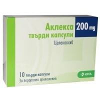 АКЛЕКСА капс.200мг.х10 9,30 лв. от Vitania.bg