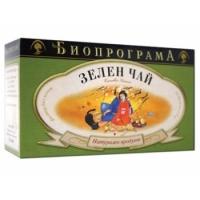 БИОПРОГРАМА ЧАЙ Зелен филтър 20 бр. 1,20 лв. от Vitania.bg