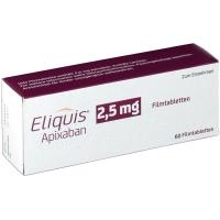 ЕЛИКВИС табл. 2.5 мг.х 60 149,88 лв. от Vitania.bg