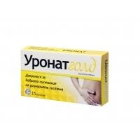 НАТУРПРОДУКТ УРОНАТ ГОЛД капс x 15 7,20 лв. от Vitania.bg