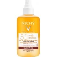 ВИШИ СОЛЕЙ Слънцезащитна вода за лице и тяло SPF50 за подобряване на тена 200 мл. 39,00 лв. от Vitania.bg