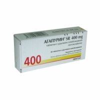 АГАПУРИН SR ТАБЛ.400МГ Х 20  2,90 лв. от Vitania.bg