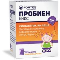 ПРОБИЕН КИДС Таблетки за дъвчене x 20 ФОРТЕКС 12,20 лв. от Vitania.bg