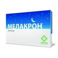МЕЛАКРОН капсули 600 мг. х 30 16,60 лв. от Vitania.bg