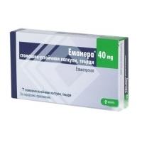 ЕМАНЕРА КАПС. 40 мг.х 7 8,20 лв. от Vitania.bg