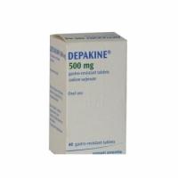 ДЕПАКИН ТАБЛ. 500 мг.х 40  9,68 лв. от Vitania.bg