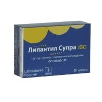 ЛИПАНТИЛ СУПРА TABL. MODIF. 160 MG X30 17,90 лв. от Vitania.bg