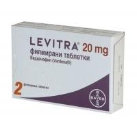 ЛЕВИТРА ТАБЛ.20 мг.х 2 34,50 лв. от Vitania.bg
