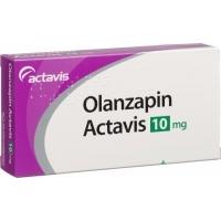 ОЛАНЗАПИН Актавис ТАБЛ. 10 мг.х 30 6,25 лв. от Vitania.bg