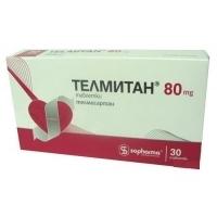 ТЕЛМИТАН TABL 80 MG Х30 10,98 лв. от Vitania.bg