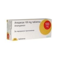 АЛОДАГРА ТАБЛ. 100 мг.х 50 3,20 лв. от Vitania.bg
