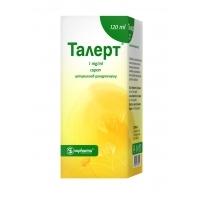 ТАЛЕРТ СИРОП 1МГ/МЛ 120МЛ 7,76 лв. от Vitania.bg
