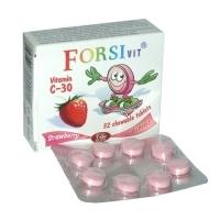 ФОРСИВИТ Джуниър витамини Ц ягода табл. х 32 2,20 лв. от Vitania.bg