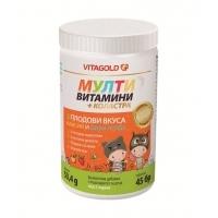 ВИТАГОЛД Мултивитамини за деца + коластра х 45 табл.  7,46 лв. от Vitania.bg