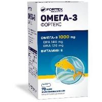 ОМЕГА 3 1000 мг. капсули х 70 ФОРТЕКС 8,50 лв. от Vitania.bg