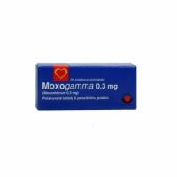 МОКСОГАМА ТАБЛ.0,3 мг.х 30   7,66 лв. от Vitania.bg
