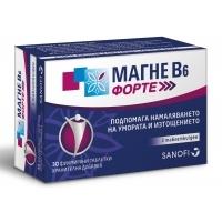 Магне B6 Форте табл. х 30  18,50 лв. от Vitania.bg