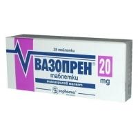 ВАЗОПРЕН ТАБЛ. 20 мг. х28 бр. 4,55 лв. от Vitania.bg