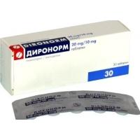 ДИРОНОРМ ТАБЛ. 20 мг./10 мг.х 30 15,80 лв. от Vitania.bg