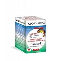 АБО ФАРМА Омега 3 рибено масло 500 мг х 120 перли 12,30 лв. от Vitania.bg