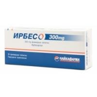 ИРБЕСО табл. 300 мг.х 30 18,50 лв. от Vitania.bg