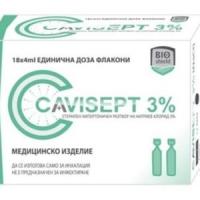 КАВИСЕПТ АМП. 3% Р-Р 4МЛ Х 18 9,68 лв. от Vitania.bg