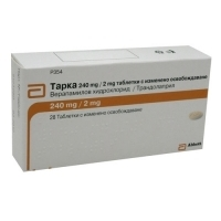ТАРКА Табл.240 мг/2мг.х 28 24,40 лв. от Vitania.bg