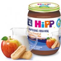 ХИП БИО каша ябълка и бисквити 250г 7,10 лв. от Vitania.bg