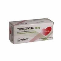 ТРИМДУКТАЛ ТАБЛ. 20МГ Х 60 13,40 лв. от Vitania.bg