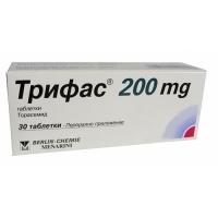 ТРИФАС ТАБЛ. 200 мг.х 30 89,90 лв. от Vitania.bg