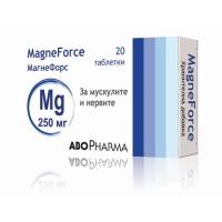 АБОФАРМА Магнефорс 250 мг. табл. х 20 6,40 лв. от Vitania.bg