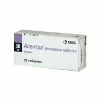 АСЕНТРА ТАБЛ. 50 мг.х 28 5,00 лв. от Vitania.bg