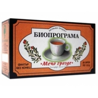 БИОПРОГРАМА ЧАЙ Мечо грозде филтър 20 бр. 1,36 лв. от Vitania.bg