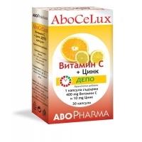 АБОФАРМА Витамин C депо + цинк табл. x 30 9,95 лв. от Vitania.bg
