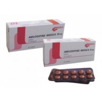 АМЛОДИПИН ТАБЛ. 5 мг.х 30 Медика 1,60 лв. от Vitania.bg